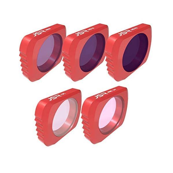 XHS DJI OSMO Pocket フィルター レンズフィルター 5個セット UV+CPL+ND8 +ND16 +ND32 レンズ保護
