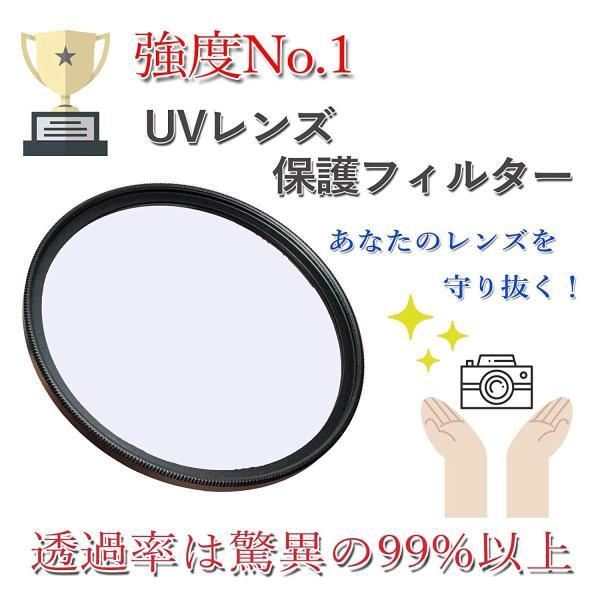 OLYMPUS ミラーレス一眼 OM-D E-M10 MarkII EZダブルズームキット専用 UV保護 レンズフィルター 37mm & 5