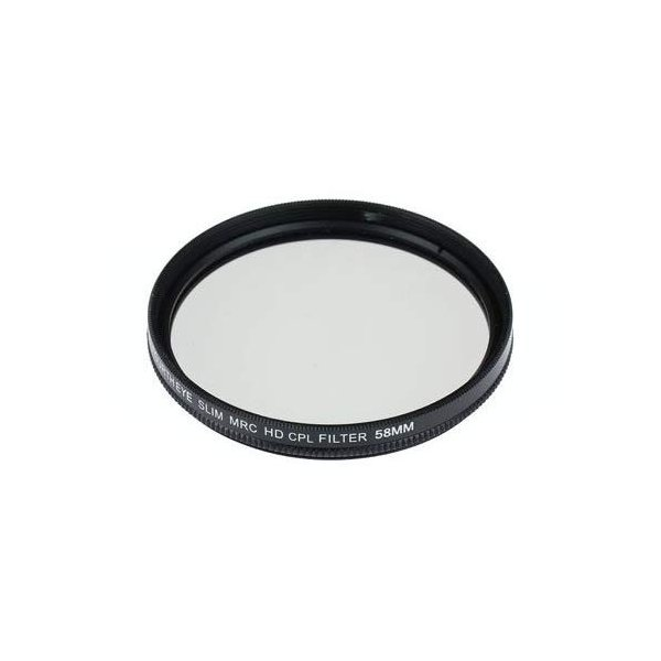 CANON EOS Kiss X9i ダブルズームキット用 互換MRC-CPLレンズフィルター 58mm+58mmの2点セット|orsshop