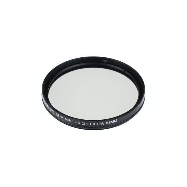 CANON EOS Kiss X9i ダブルズームキット用 互換MRC-CPLレンズフィルター 58mm+58mmの2点セット|orsshop|02