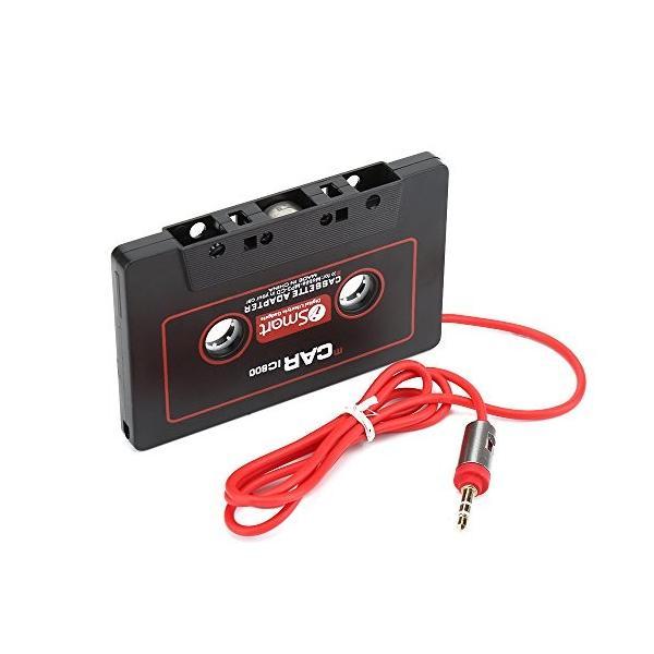 ZOMTOP 3.5mm高音質カーカセットアダプター