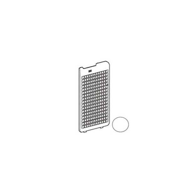 シャープ 加湿空気清浄機用後ろパネル2801580683(ホワイト系)適合機種KI-EX75-W
