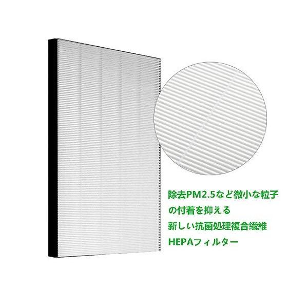 BBT 加湿空気清浄機用 FZ-D50HF 脱臭フィルター FZ-D50DF 集じんフィルター HEPA 交換用 1セット