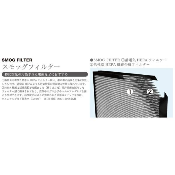 BONECO 空気清浄機用スモッグフィルター(P500対応) 一体型 A503