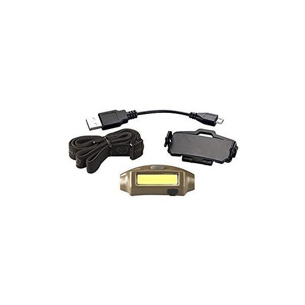 ストリームライト バンディット USB充電式LEDヘッドランプ コヨーテ WSL61706