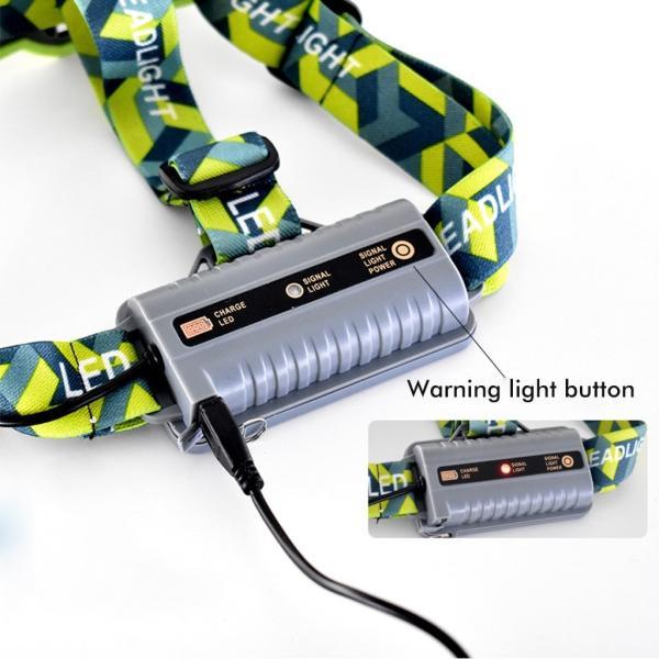 LEDヘッドライト ヘッドランプ アウトドア ヘッドライト 夜釣り 登山 充電式 作業 軽量 防水 ランニング用 ledヘッドランプ 照射距