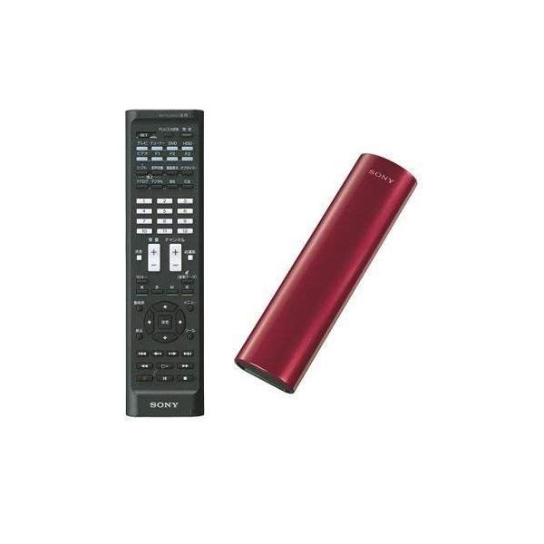 SONY リモートコマンダー 地上デジタルフル対応 レッド RM-PLZ510D R