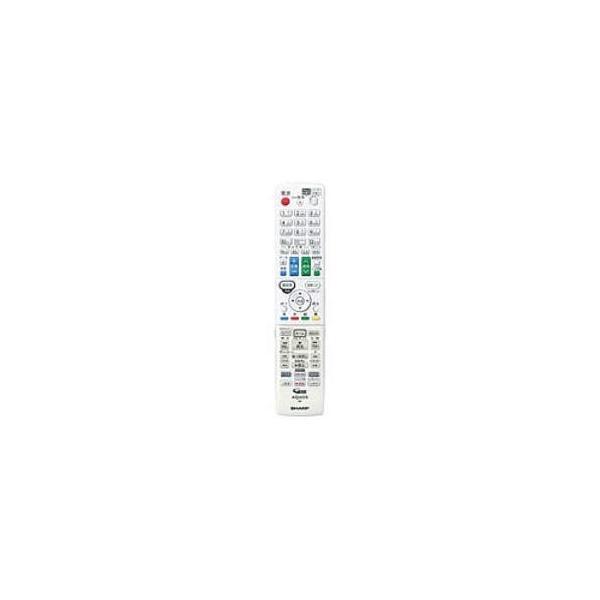 SHARP/シャープ ブルーレイディスクレコーダー用 リモコンホワイト系 0046380271 (0046380271)