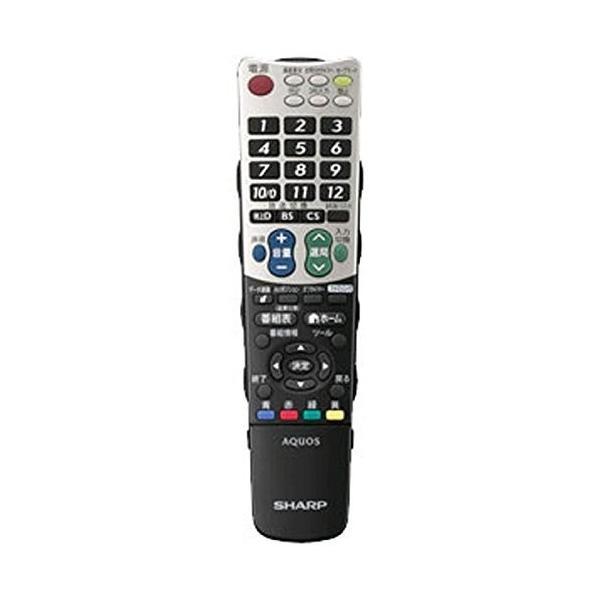 シャープ 純正テレビ用リモコン RRMCGB031WJSA部品番号:0106380390