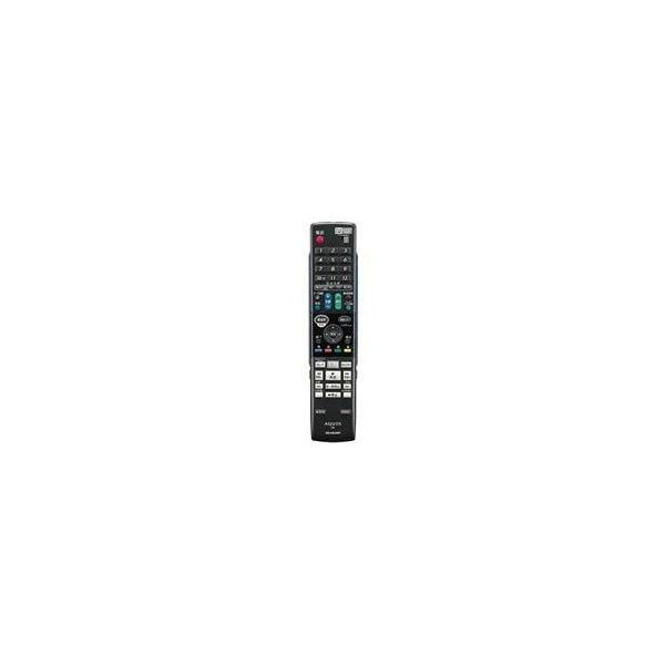 シャープSHARP オプション・消耗品 0046380212 ブルーレイディスクレコーダー用 リモコン