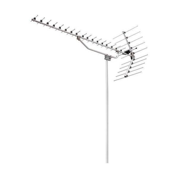 DXアンテナ UHF20素子アンテナ(ローチャンネル・ステンレス) ULN20S1ULN-20S〈AU-2〉