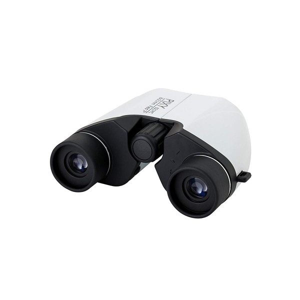 PIXY 双眼鏡 PIXY M8x21 ポロプリズム式 8倍 21口径 ホワイト PIXY M8x21MC WH