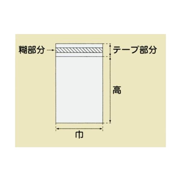 HEIKO OPP袋 テープ付き クリスタルパック T16?22