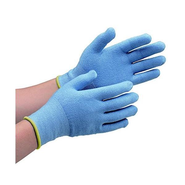 ミドリ安全 耐切創手袋 カットガード132 ブルー LL CUTGUARD132BLLL-7186 8192466