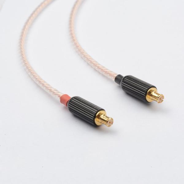 Woodhifi AT02 リケーブル イヤホン イヤホンケーブル 交換ケーブル 着脱式ケーブル Audio-technica ATH-ck