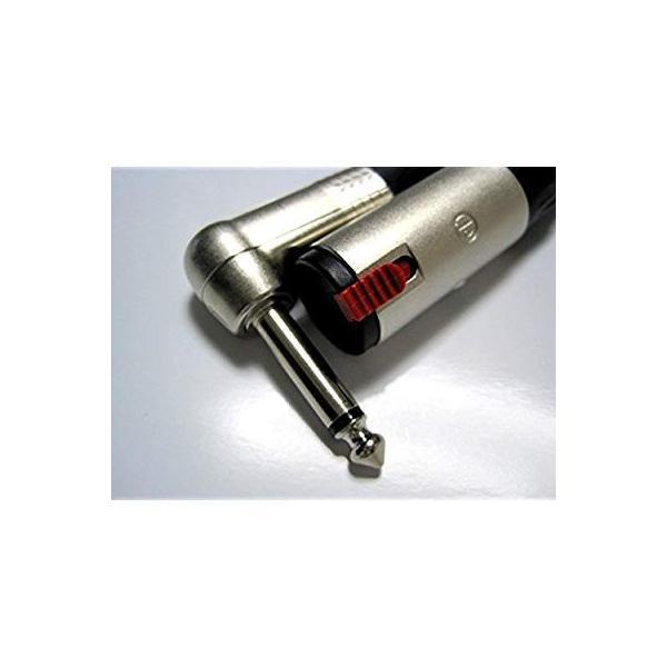NTL10-B (CANARE) 変換・延長ケーブル 10m モノラルフォンメス-モノラルフォンオスL型 黒/ブラック