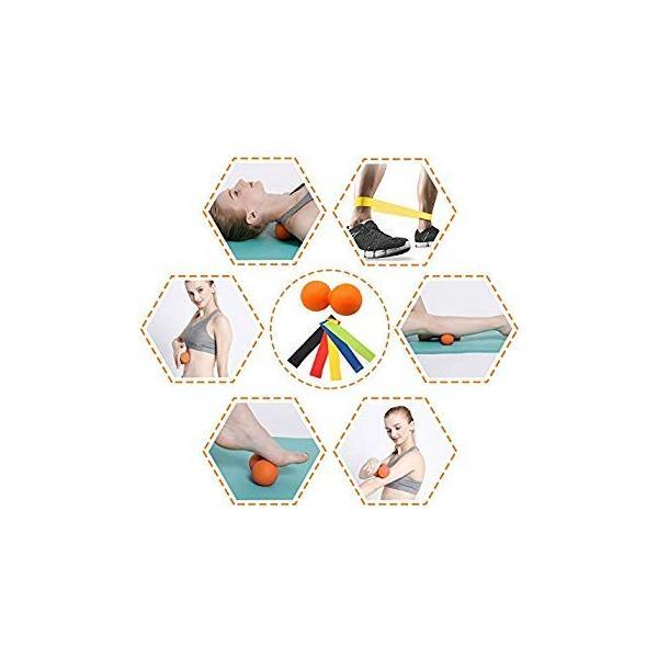 最新版セットフォームローラー 筋膜リリース エクササイズ フォームローラー 腰痛・肩コリ・筋肉痛を改善トリガーポイントヨガポール ストレッチ|orsshop|02