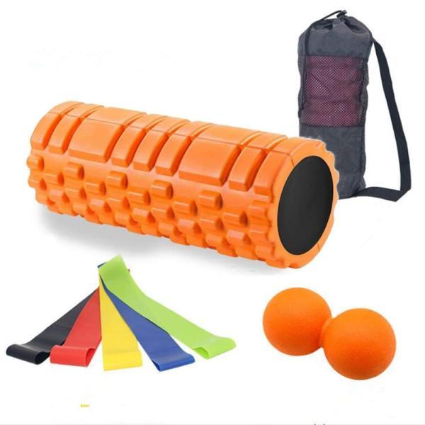 最新版セットフォームローラー 筋膜リリース エクササイズ フォームローラー 腰痛・肩コリ・筋肉痛を改善トリガーポイントヨガポール ストレッチ|orsshop|14
