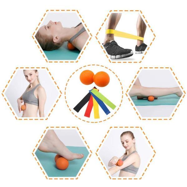 最新版セットフォームローラー 筋膜リリース エクササイズ フォームローラー 腰痛・肩コリ・筋肉痛を改善トリガーポイントヨガポール ストレッチ|orsshop|05