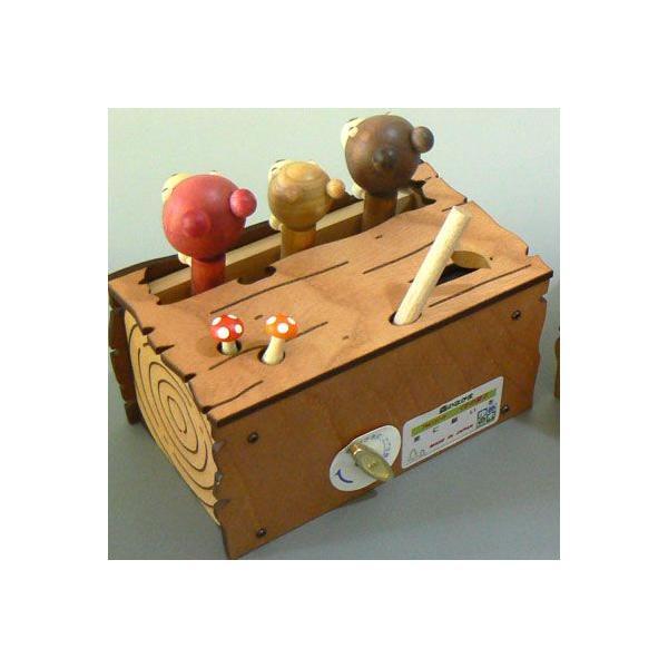 からくりアニマル( 森の仲間たち)オルゴール  夢の木工房|orugoruya|04