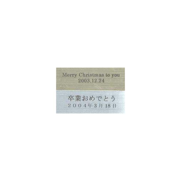記念プレート2行(シール式)|orugoruya