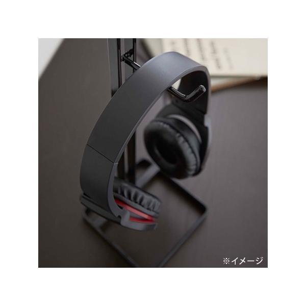 山崎実業 ヘッドホンスタンド ボーテス 角型 レッド (THメーカー)