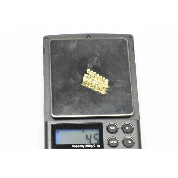 K18 ゴールド 合計 0.42ct ダイヤモンド ペンダントトップ|osaka-jewelry|05