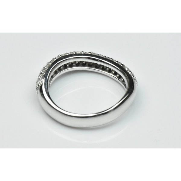 K18WG パヴェ 0.51ct ダイヤモンドリング 5号 指輪|osaka-jewelry|04