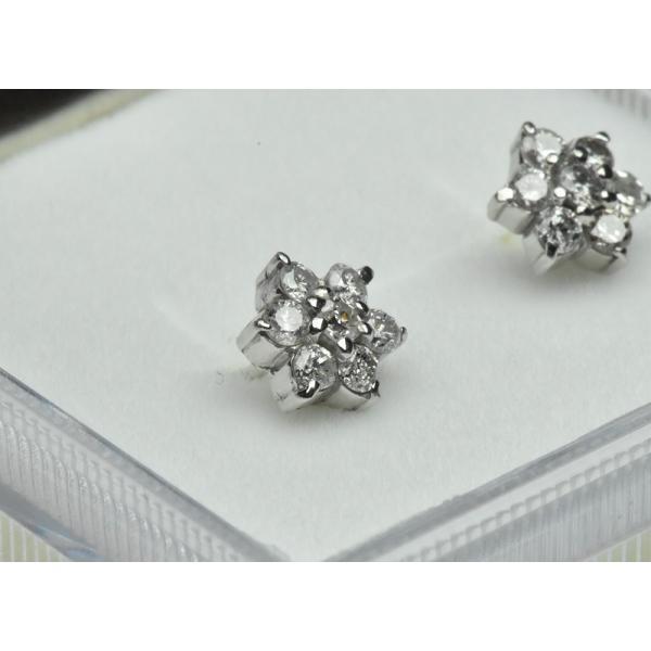 【ピアス】K18WG 合計 0.50ct ダイヤモンド osaka-jewelry 02
