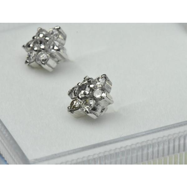 【ピアス】K18WG 合計 0.50ct ダイヤモンド osaka-jewelry 03