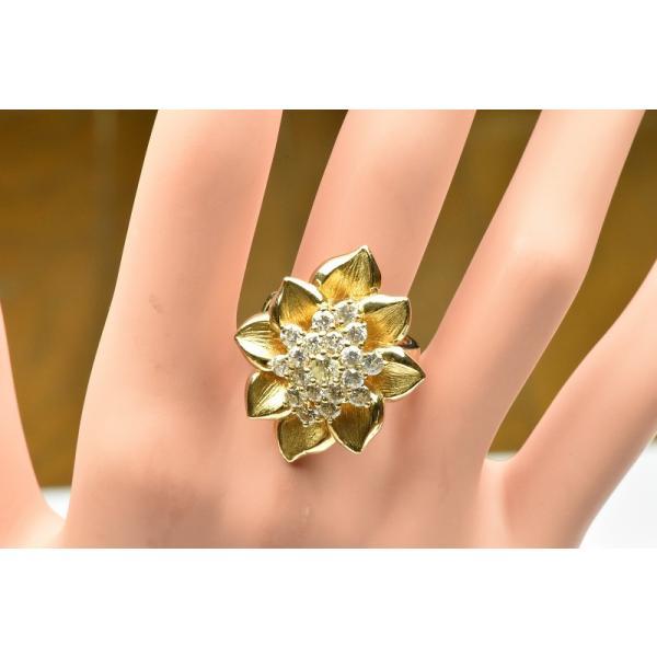 【鑑別】K18 ゴージャス 1.55ct ダイヤモンドリング 12.5号|osaka-jewelry|03