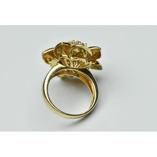 【鑑別】K18 ゴージャス 1.55ct ダイヤモンドリング 12.5号|osaka-jewelry|05