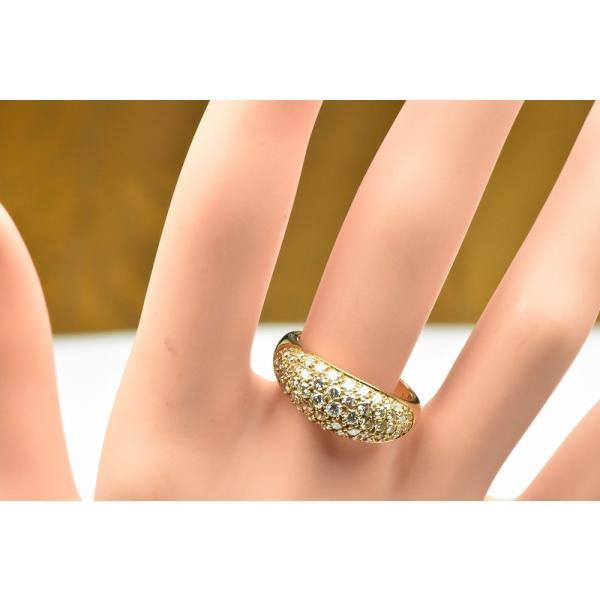 パヴェ K18 合計 1.00ct ダイヤモンドリング 13号 指輪|osaka-jewelry|03