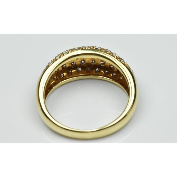 パヴェ K18 合計 1.00ct ダイヤモンドリング 13号 指輪|osaka-jewelry|04