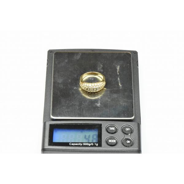 パヴェ K18 合計 1.00ct ダイヤモンドリング 13号 指輪|osaka-jewelry|07
