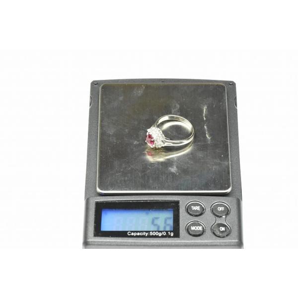 Pt900 ルビー 1.02ct ダイヤモンドリング 16号 指輪|osaka-jewelry|11