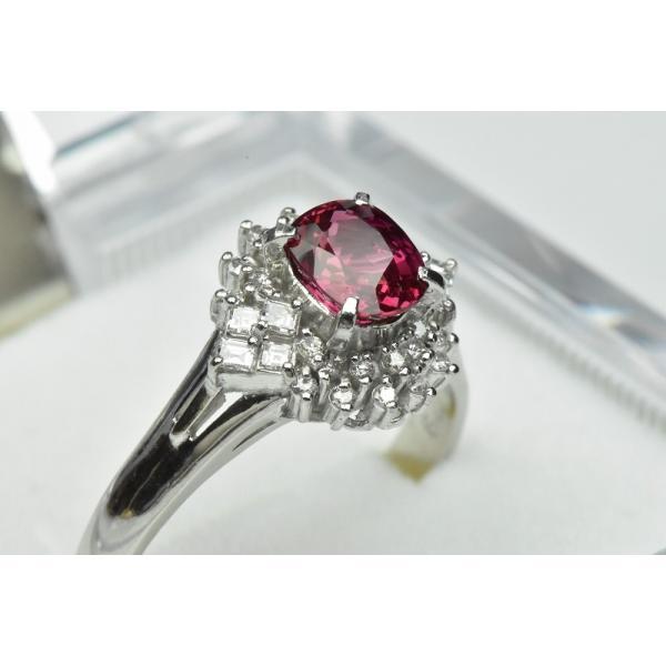 Pt900 ルビー 1.02ct ダイヤモンドリング 16号 指輪|osaka-jewelry|05
