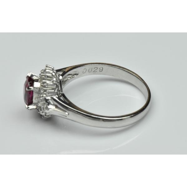 Pt900 ルビー 1.02ct ダイヤモンドリング 16号 指輪|osaka-jewelry|10