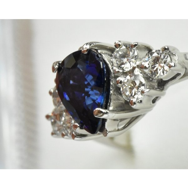 K18WG サファイア 0.85ct ダイヤモンドリング 10号 指輪|osaka-jewelry|03