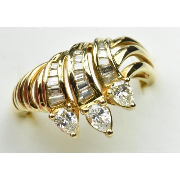 【鑑別】K18 合計 0.69ct ダイヤモンドリング 12.5号 指輪|osaka-jewelry