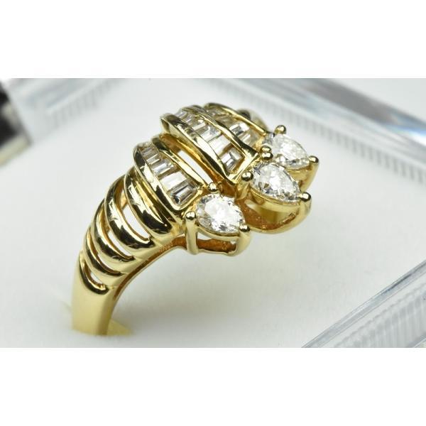 【鑑別】K18 合計 0.69ct ダイヤモンドリング 12.5号 指輪|osaka-jewelry|02