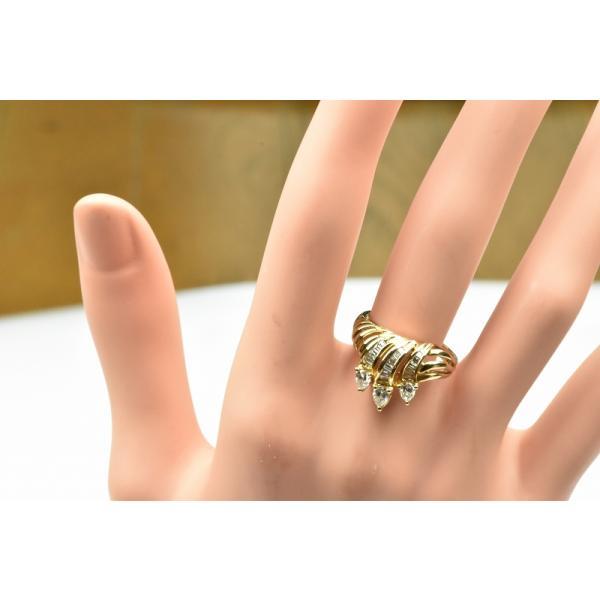 【鑑別】K18 合計 0.69ct ダイヤモンドリング 12.5号 指輪|osaka-jewelry|03
