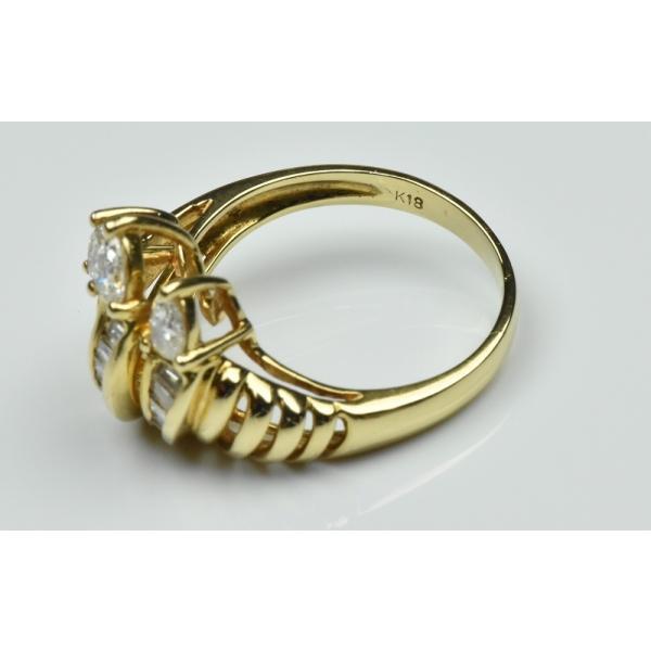 【鑑別】K18 合計 0.69ct ダイヤモンドリング 12.5号 指輪|osaka-jewelry|06