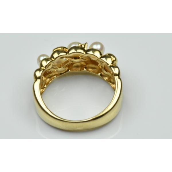 TASAKI 田崎真珠 K18 ベビーパール リング 10号 指輪|osaka-jewelry|04