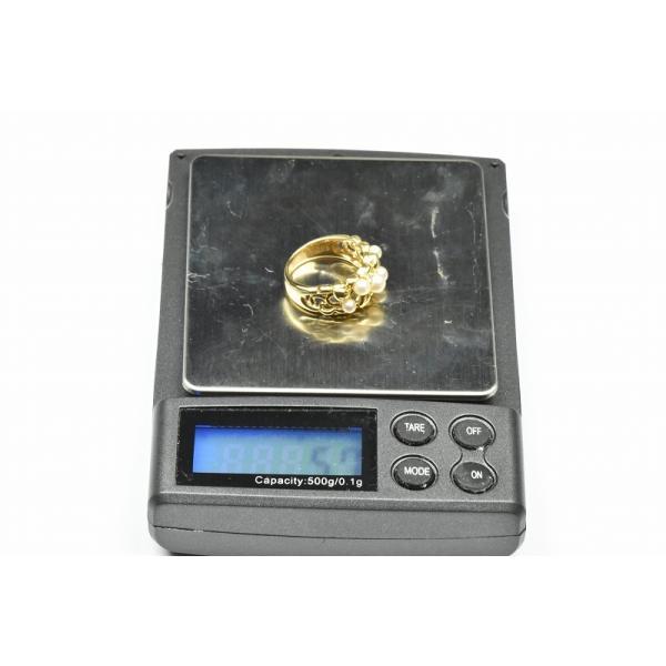 TASAKI 田崎真珠 K18 ベビーパール リング 10号 指輪|osaka-jewelry|07