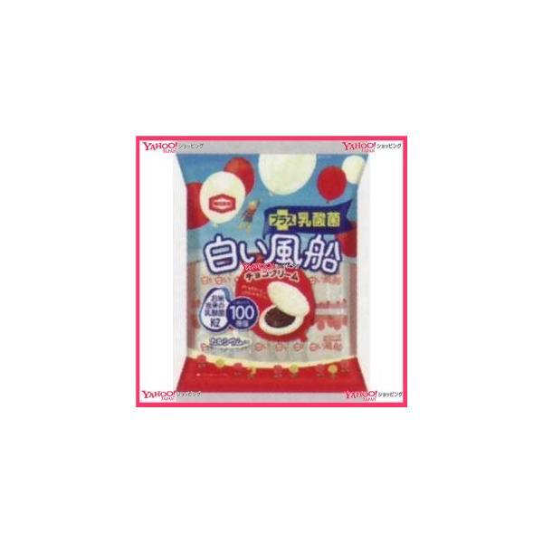 業務用菓子問屋GGx亀田製菓 18枚 白い風船チョコクリーム【チョコ】×24個 +税 【xw】【送料無料(沖縄は別途送料)】