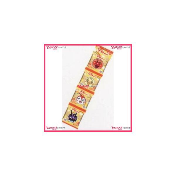 業務用菓子問屋GGxベフコ栗山米菓 52G アンパンマンのソフトせん4P×12個 +税 【xeco】【エコ配 送料無料 (沖縄 不可)】