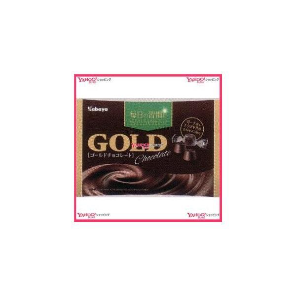 業務用菓子問屋GGxカバヤ食品 183G ゴールドチョコレート【チョコ】×48個 +税 【xw】【送料無料(沖縄は別途送料)】