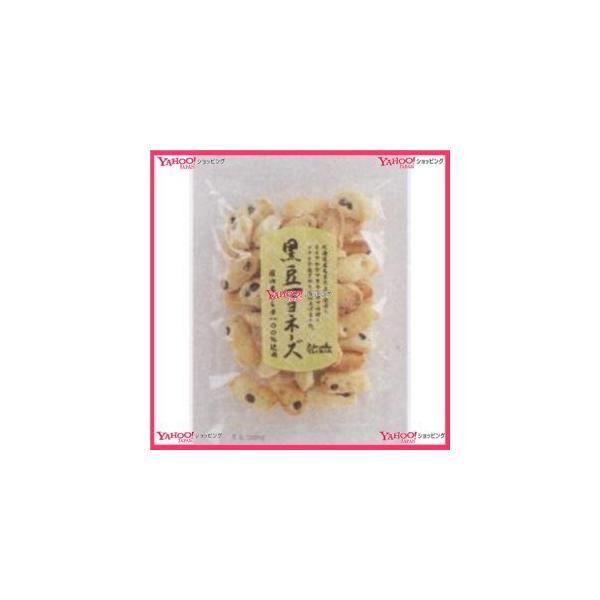 業務用菓子問屋GGx石井製菓 75G 黒豆マヨネーズ×48個 +税 【xr】【送料無料(沖縄は別途送料)】