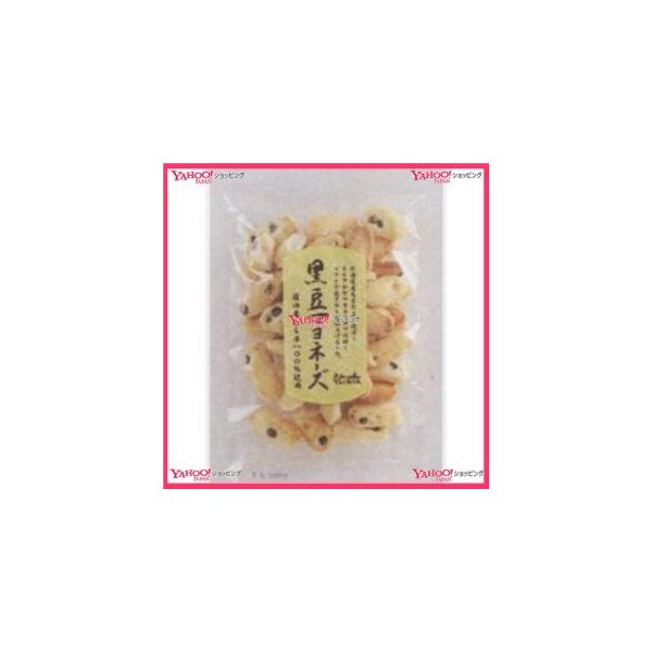 業務用菓子問屋GGx石井製菓 75G 黒豆マヨネーズ×24個 +税 【xw】【送料無料(沖縄は別途送料)】